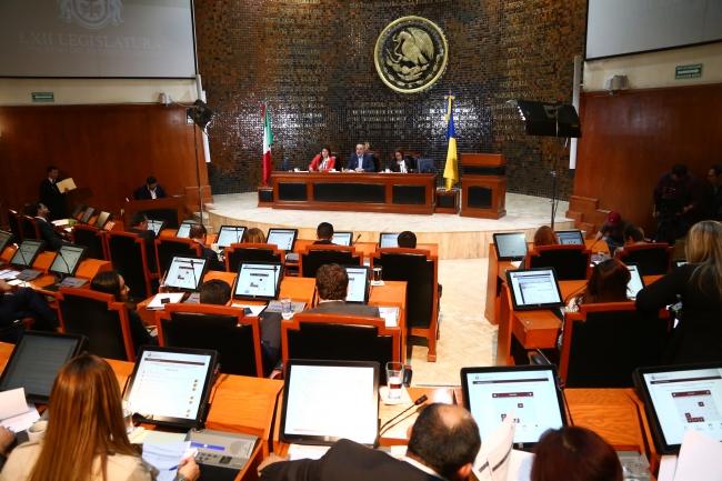 Congreso local de Jalisco aprobaron la agenda legislativa