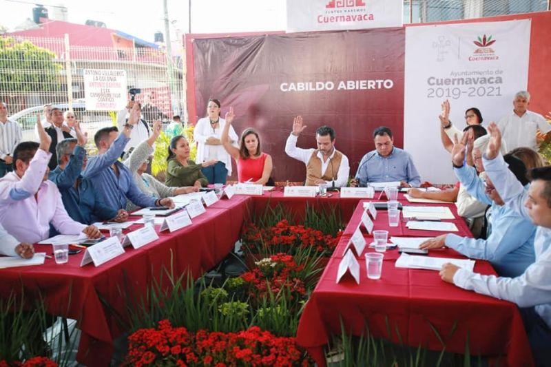 Primer Cabildo abierto en Cuernavaca
