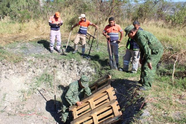 Protección Civil de Guerrero y Sedena destruyeron material pirotécnico