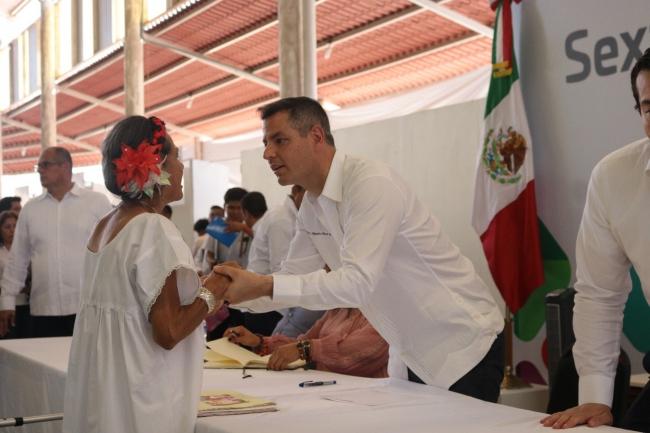 Sexta Audiencia Pública encabezada por el gobernador Alejandro Murat Hinojosa