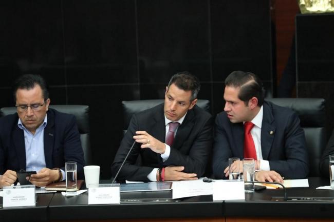 Alejandro Murat participó en las audiencias públicas pro la Guardia Nacional