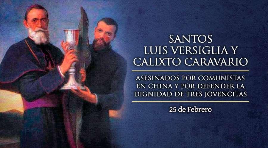 Día de los Santos Luis Versiglia y Calixto Caravario