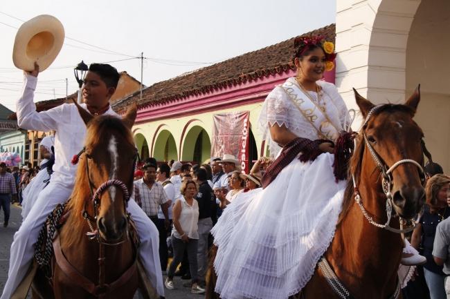 Fiestas de la Virgen de La Candelaria en Veracruz
