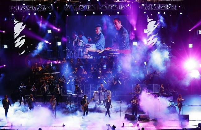 Los Ángeles Azules en el Auditorio Nacional