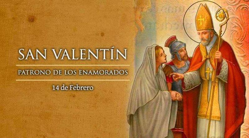 San Valentín patrono de los enamorados
