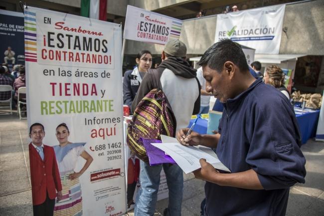 Segunda Feria del Empleo a Migrantes en Tijuana