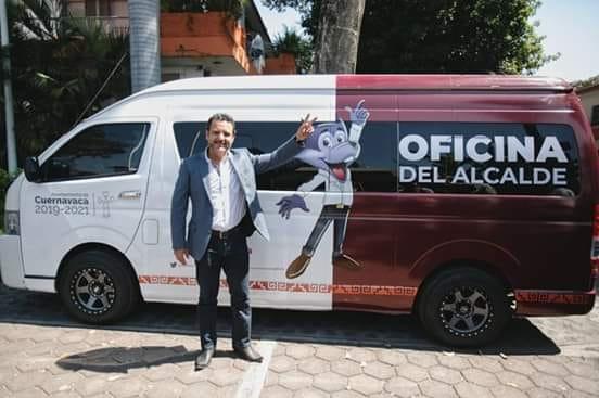 Villalobos será alcalde itinerante en Cuernavaca