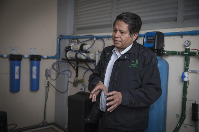 Buscan mejorar planta potabilizadora para consumo humano
