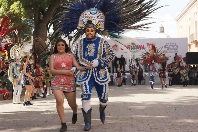 Carnaval Tlaxcala 500 Años