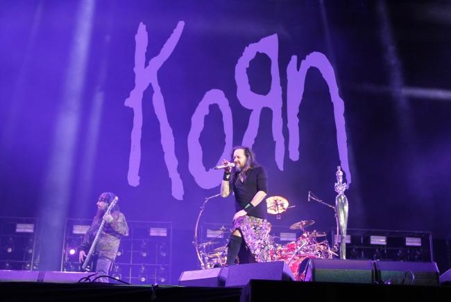 Korn en el Vive Latino 2019