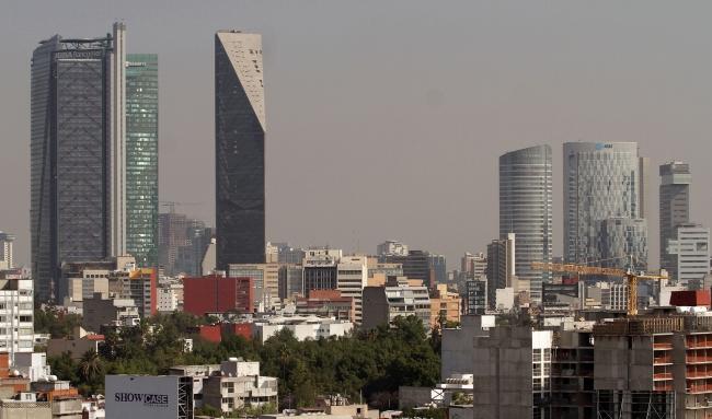 En la Ciudad de México, el aire es de regular a bueno
