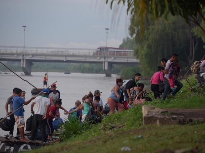 10 mil migrantes buscan asilo en EU pero estan en México