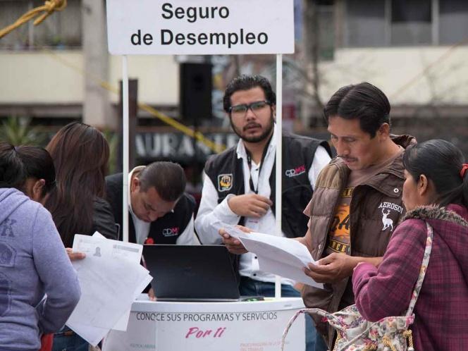 Acercan seguro de desempleo en la Ciudad de México