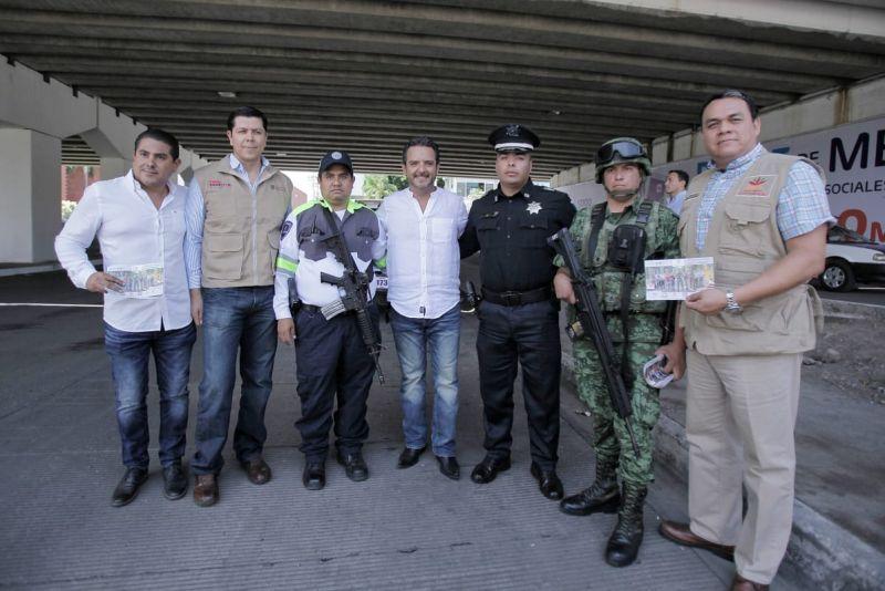 Encabeza el alcalde de Cuernavaca Antonio Villalobos actividades del programa Construyendo la paz en el corazón de Morelos