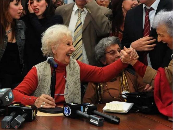 Las abuelas de Plaza de Mayo informan que han recuperado al nieto 130
