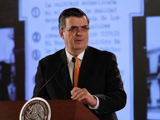 Marcelo Ebrard no convence con el plan migratorio