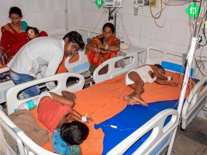 Mata encefalitis a 43 niños en India