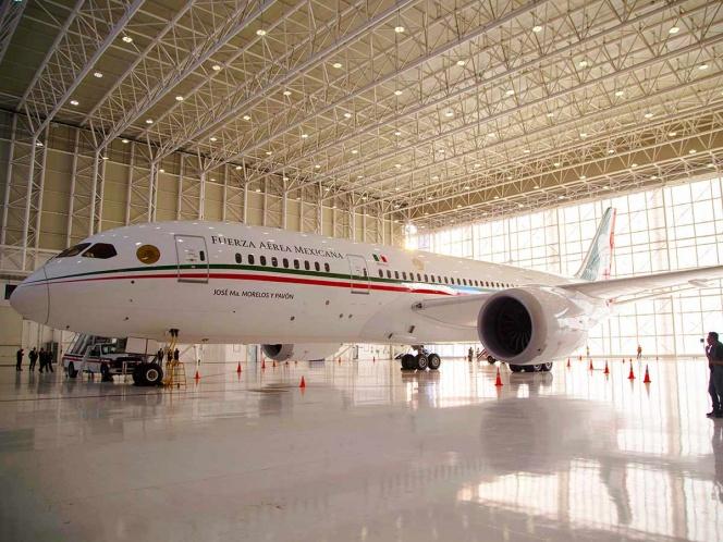 Si se vende el avión presidencial, financiaría el plan migrante