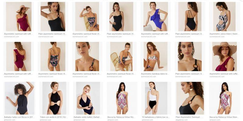 Conoce el Asymmetric swimsuit la tendencia del verano
