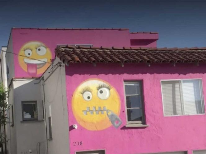 Emojis decoran esta casa