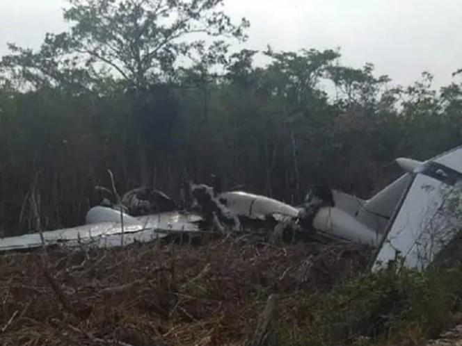 Hallan narco avioneta en Quintana Roo