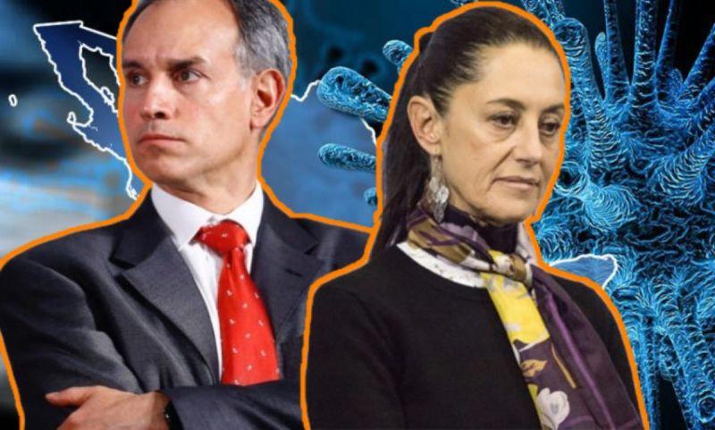 La guerra entre Claudia Sheinbaum y López Gatell