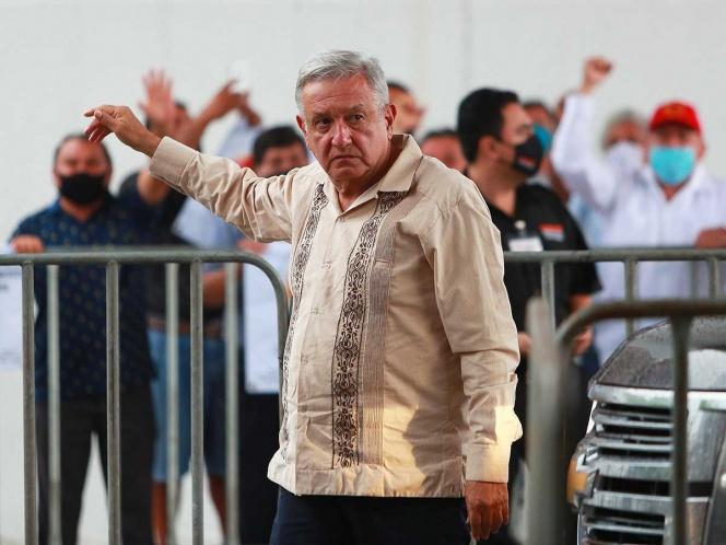 López Obrador en Yucatán a pesar de que no hace nada por México