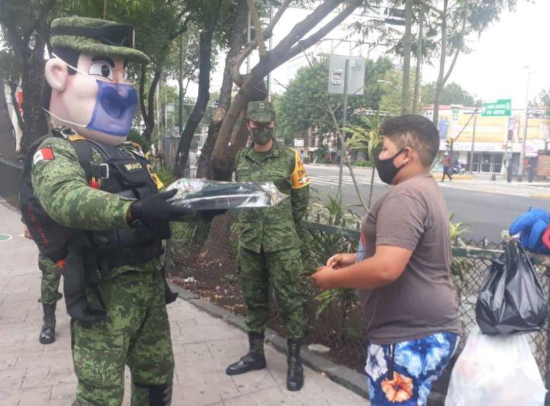 Viva el ejército mexicano, una institución que vive para servir al pueblo de México