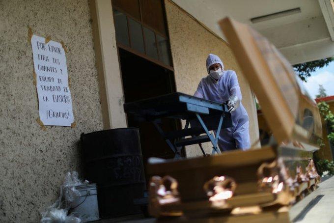 Escandaloso, más de 40 mil muertos por covid en México y todavía nos dicen que todo esta tranquilo y bien