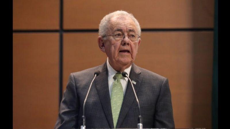 Javier Jiménez Espriú renuncia a la SCT, por diferencias con López Obrador en el tema de las aduanas y obvio, la militarización de los puertos del país