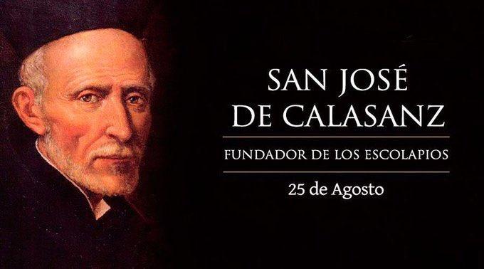 Oración a San José de Calasanz para pedir por los hijos
