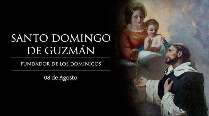 Oración a Santo Domingo de Guzmán