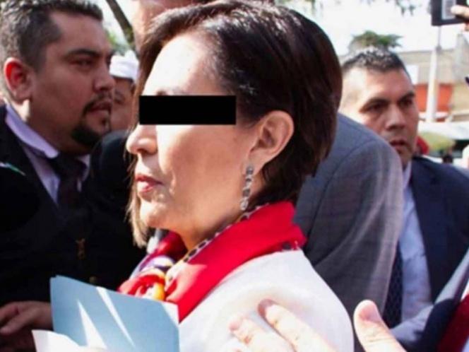 Rosario Robles preso político de López Obrador