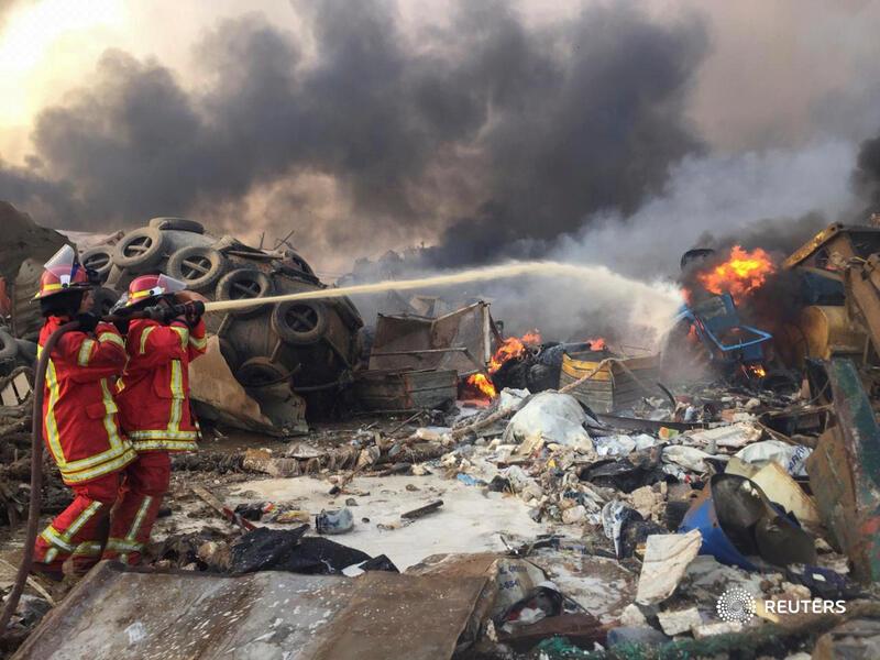 Tras la explosión en Beirut se desconoce el numero de victimas
