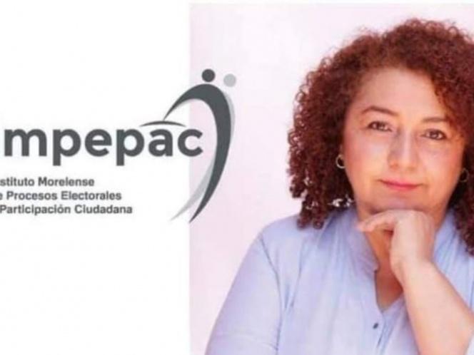 Fallece presidenta del Instituto Electoral de Morelos por covid